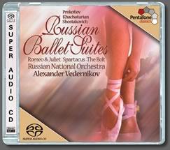 Prokofiev, S.: Romeo and Juliet Suite No. 1 / Khachaturian, A.I.: Spartacus / Shostakovich, D.: The Bolt (Russian Ballet Suites)