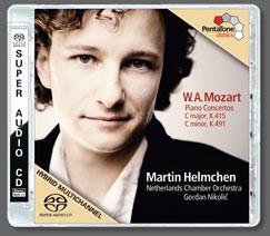 Mozart: Piano Concertos Nos. 13 and 24