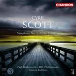 Scott, C.: Symphony No. 1 / Cello Concerto