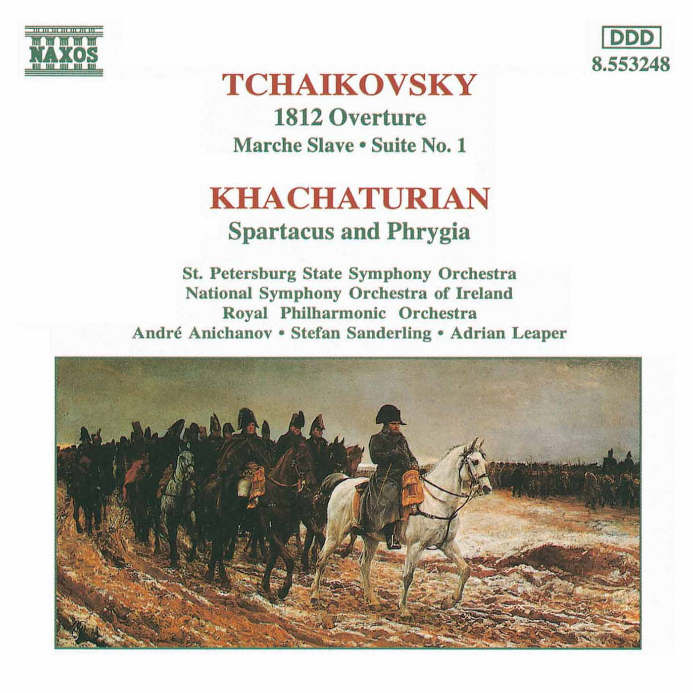 eClassical - Tchaikovsky, P I : 1812 Overture / Khachaturian
