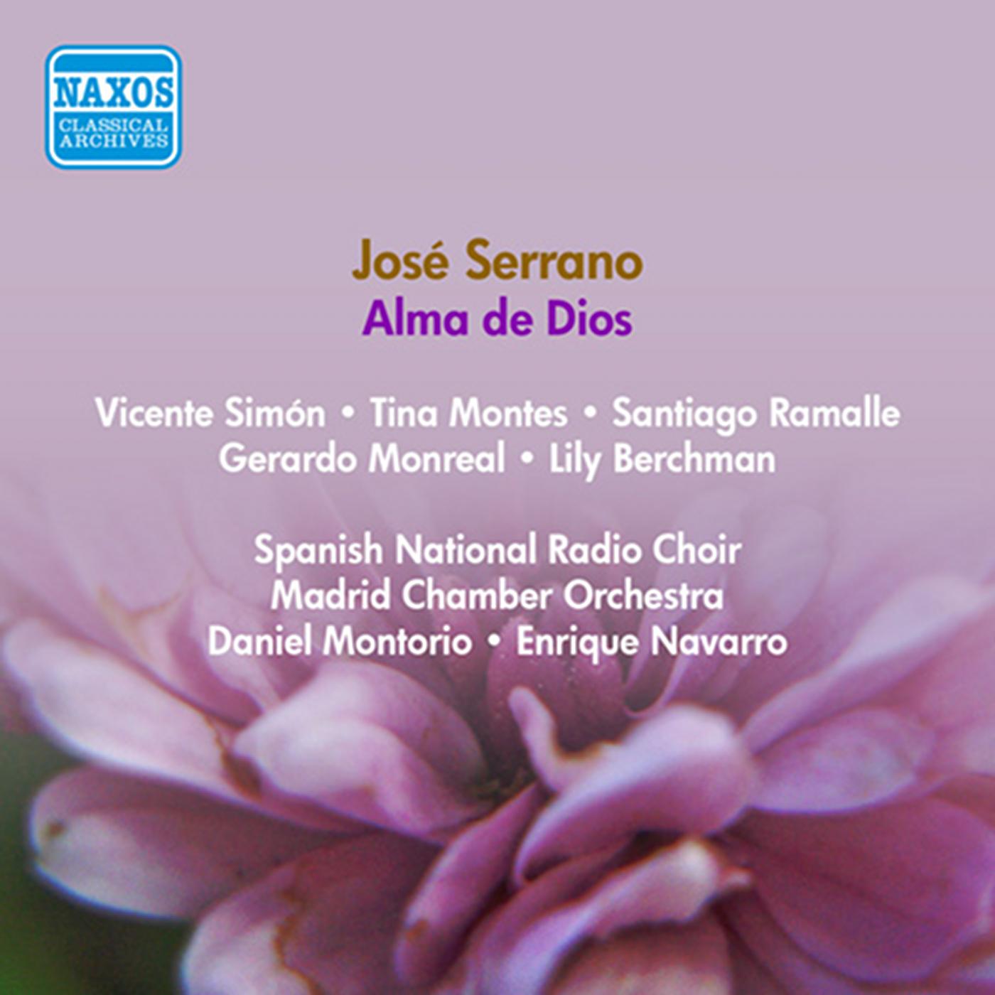 eClassical - Serrano, J : Alma De Dios [Zarzuela] (Berchman