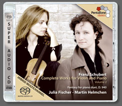 Franz Schubert (1797 – 1828)  Complete Works for Violin and Piano, Volume 2