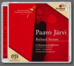 Strauss, R.: Der Bürger als Edelmann / Duett-Concertino / Capriccio