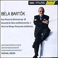 eClassical - Béla Bartók - Four Pieces for Orchestra op  12