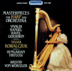 Vivaldi: Concerto in D Major (Arr. for Harp) / Handel: Concerto in F Major (Arr. for Harp)