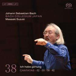 J.S. Bach - Cantatas, Vol.38