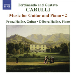 Carulli, F.: Guitar and Piano Music, Vol. 2