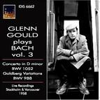 Glenn Gould plays Bach, Vol. 3 (1958)