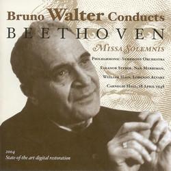 Beethoven, L. Van: Missa Solemnis (Philharmonic Symphony, Walter) (1948)