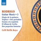 Rodrigo: Guitar Works, Vol. 3