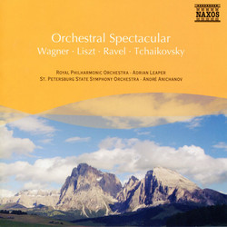 Wagner / Liszt / Ravel / Tchaikovsky: Orchestral Spectacular