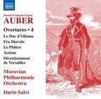 Auber: Overtures, Vol. 4