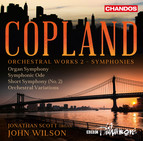 Copland: Orchestral Works, Vol. 2 (Symphonies)