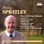 Spratley, P.: Sinfonietta / Clarinet Concertino,