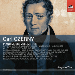 Czerny: Piano Music, Vol. 1