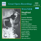 Wagner, R.: Siegfried (Ring Cycle 3) (Excerpts) (Melchior, Tessmer) (1929-1932)