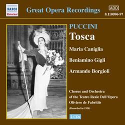 Puccini: Tosca (Gigli, Caniglia) (1938)