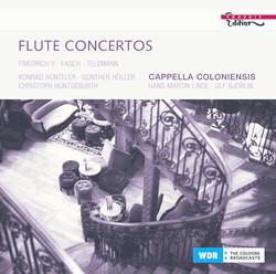 Baroque Flute Concertos - Frederick Ii (King Of Prussia) / Telemann, G.P. / Fasch, J.F.