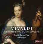 Vivaldi: The Complete Viola d'amore Concertos