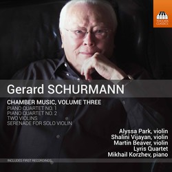 Gerald Schurmann: Chamber Music, Vol. 3