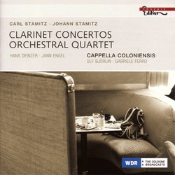 Stamitz, C.: Concerto for 2 Clarinets No. 4 / Orchestral Quartet in G Major / Stamitz, J.: Clarinet Concerto in B Flat Major