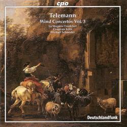 Telemann: Wind Concertos, Vol. 3