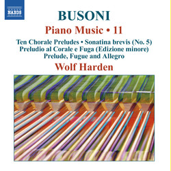 Busoni: Piano Music, Vol. 11