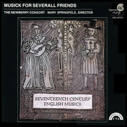 Musick For Severall Friends - 17th Century English Theatre Music