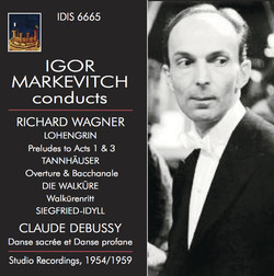 Igor Markevitch Conducts Richard Wagner and Claude Debussy