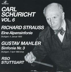 Strauss: Eine Alpensinfonie - Mahler: Symphony No. 3 (1955, 1960)