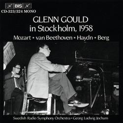 Glenn Gould in Stockholm, 1958