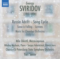 Sviridov: Snow Is Falling - Music for Chamber Orchestra - Russia Adrift