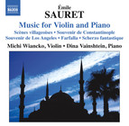 Sauret: Music for Violin and Piano