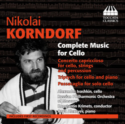 Korndorf: Complete Music for Cello