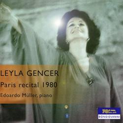 Gencer Paris Recital 1980 (Live)