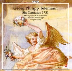 Telemann, G.P.: Cantatas - Twv 20:17-22
