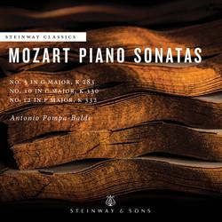 Mozart: Piano Sonatas Nos. 5, 10 & 12