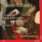 Sainte-Colombe: Concerts A 2 Violes Esgales, Vol. 2