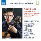 Scarlatti, Tárrega, Sor, Malats, Albéniz, Piazzolla, Coste & Berkeley: Works for Guitar