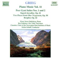 Grieg: Peer Gynt, Suites Nos. 1And 2 / Sigurd Jorsalfar / Bergliot