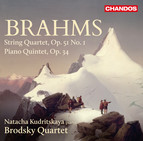 Brahms: String Quartet No. 1 & Piano Quintet