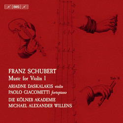 Schubert – Music for Violin, vol.1