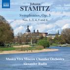 Stamitz: Symphonies, Op. 3 Nos. 1 & 3-6