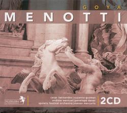 Menotti, G.C.: Goya [Opera]