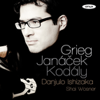 Grieg, Janacek & Kodaly