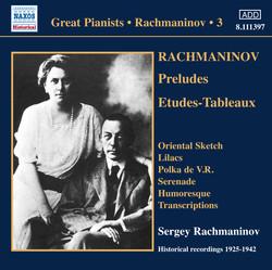 Rachmaninov: Piano Solo Recordings, Vol. 3