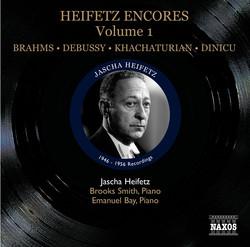 Heifetz: Encores, Vol. 1 (1946-1956)