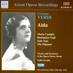Verdi: Aida (Caniglia, Gigli) (1946)