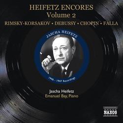 Heifetz: Encores, Vol. 2 (1946-1947)