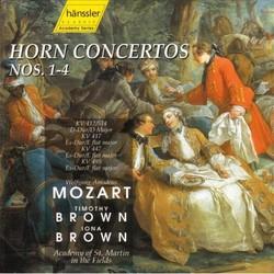 Wolfgang Amadeus Mozart - Horn Concertos Nos.1-4